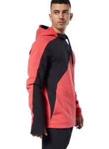 BLUZA Z KAPTUREM REEBOK ONE SERIES TRAINING COLORBLOCK