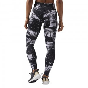 LEGGINSY REEBOK LUX  TIGHT GEOCAST