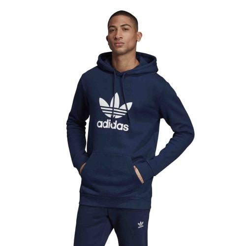 Bluza z kapturem adidas Originals Trefoil HD (collegiate navywhite)