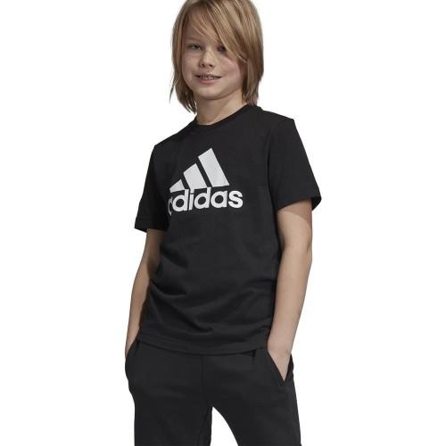 Koszulka chłopięca Adidas B Club 3 Stripes Tee blackwhite